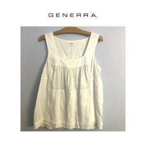 Generra Peasant Style Tank with Concealed Pockets